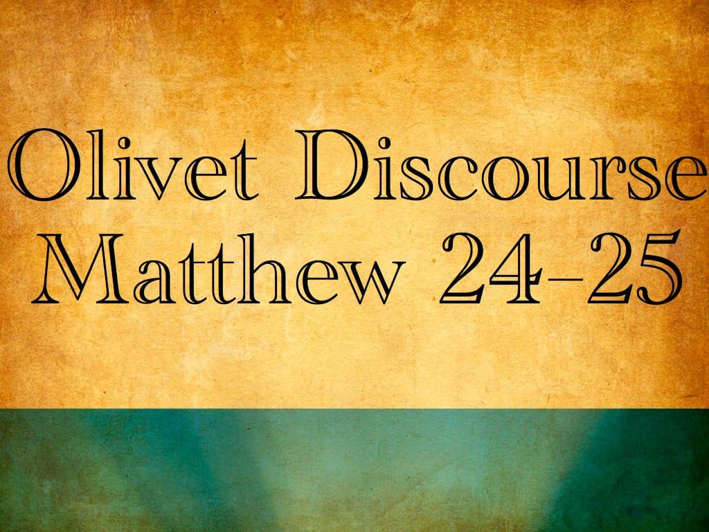 matthew 24 25