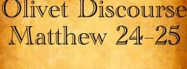 Interpretation of the Beginning of Birth Pangs in Matthew 24
