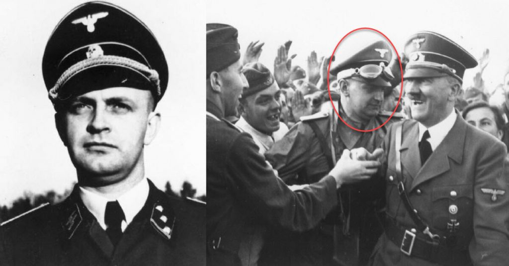 Left image by Bundesarchiv, Bild 146-1982-044-11 / CC-BY-SA 3.0, CC BY-SA 3.0 de, Wikipedia / Right image by United States Holocaust Memorial Museum, courtesy of James Blevins