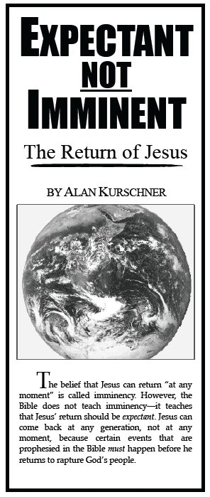 A New Prewrath Pamphlet Published! – Expectant Not Imminent — The Return of Jesus