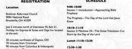 Ohio Bible Prophecy Seminar 2013