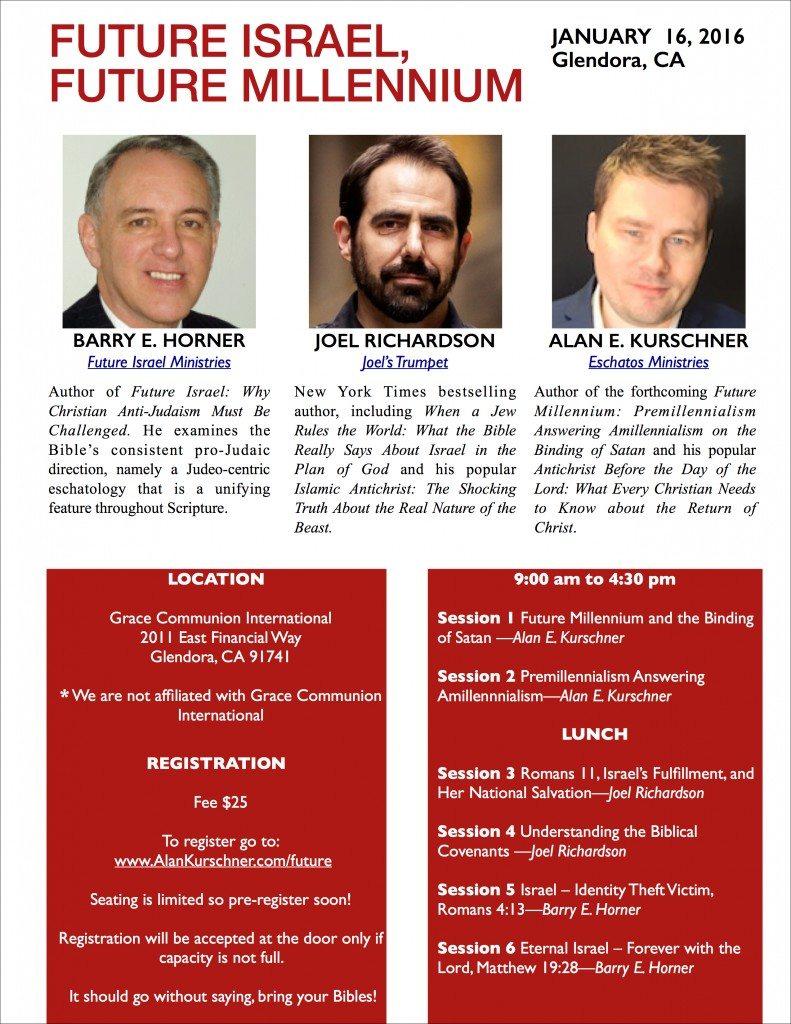 Future Israel, alan kurschner California bible conference