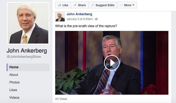 BIAS ALERT: This person makes a GREAT point about The John Ankerberg Show   Prewrath Rapture